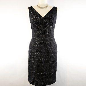 Valerie Bertinelli Black Stretchy Dress - 10